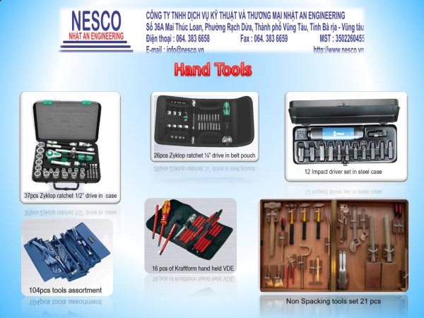 Nesco Brochure